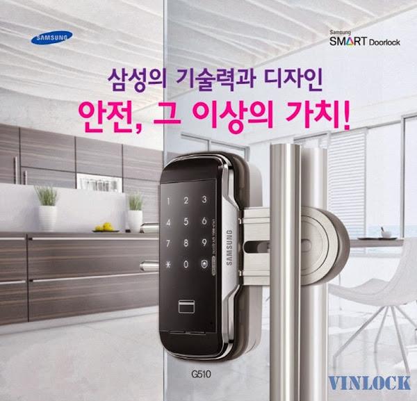 Samsung G510 Sự lựa chọn hoàn hảo cho cửa kính
