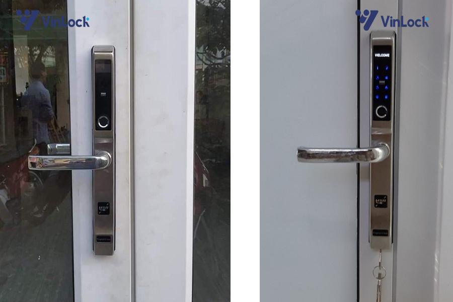khóa cửa nhôm vân tay akita-8