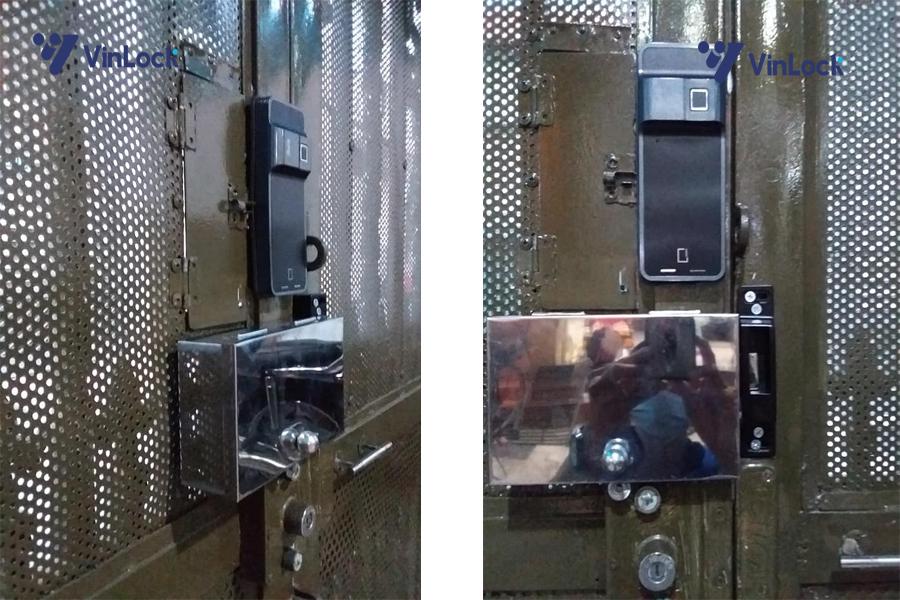 khóa cửa cổng vân tay epic 300D