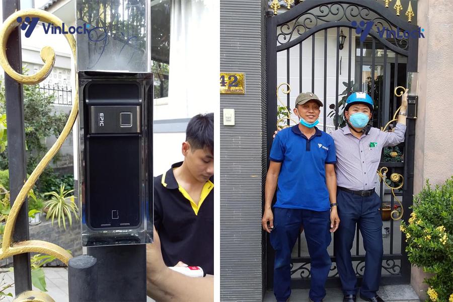 khóa cổng điện tử c500
