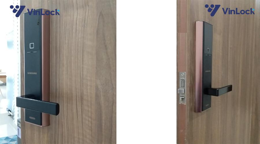 khóa cửa vân tay samsung shp dh538-2