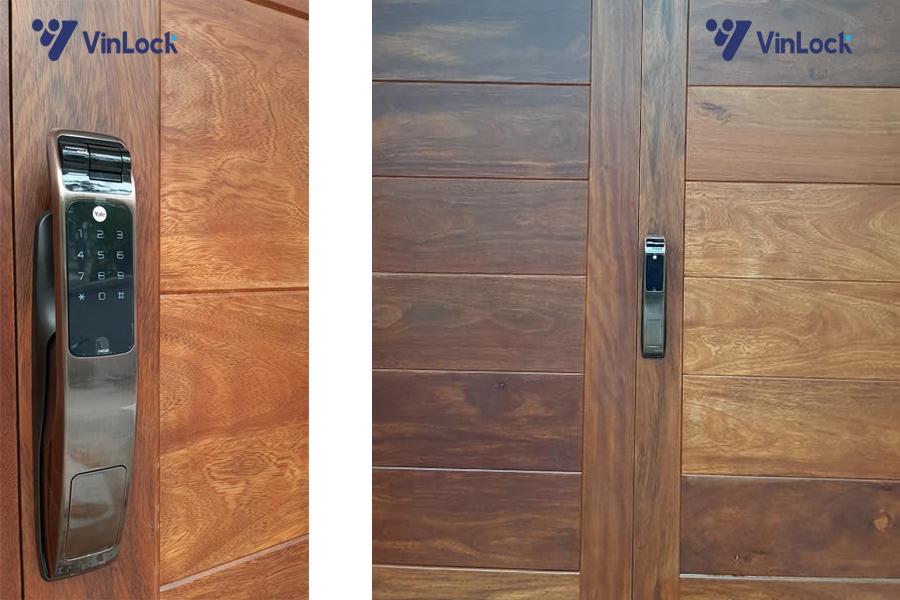 khóa cửa biệt thự bt1