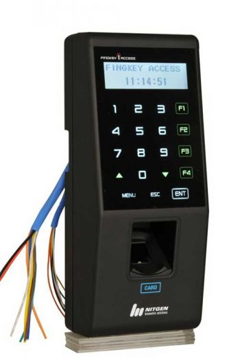FINGKEY ACCESS(SW101M FINGER PRINT&MIFARE CARD-13.56MHZ)